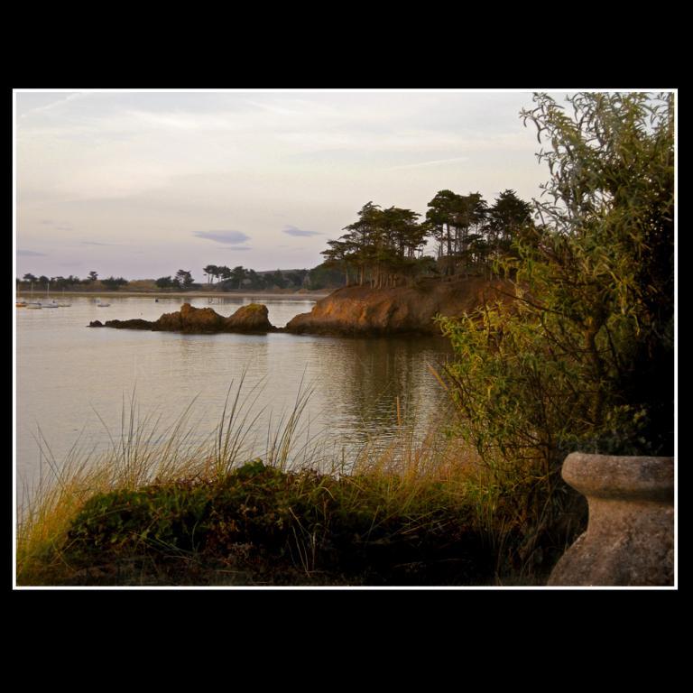 Soir sur l'ile Hénault