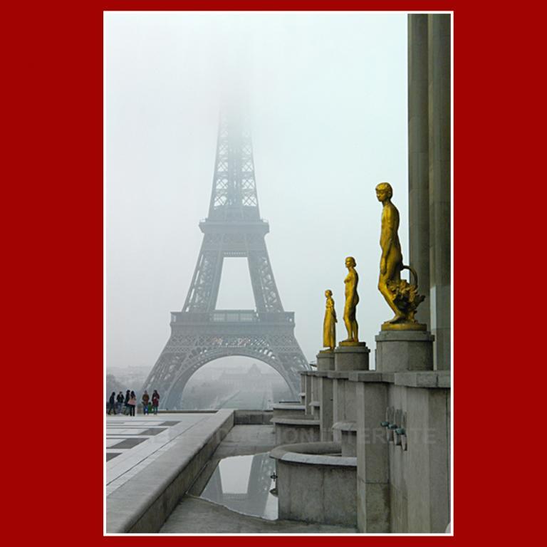 Tour Eiffel l'hiver