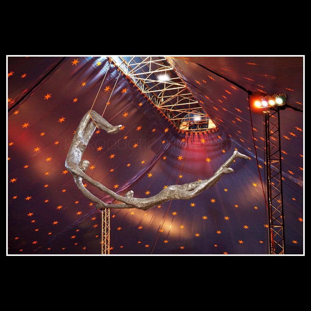 Trapézistes au Cirque